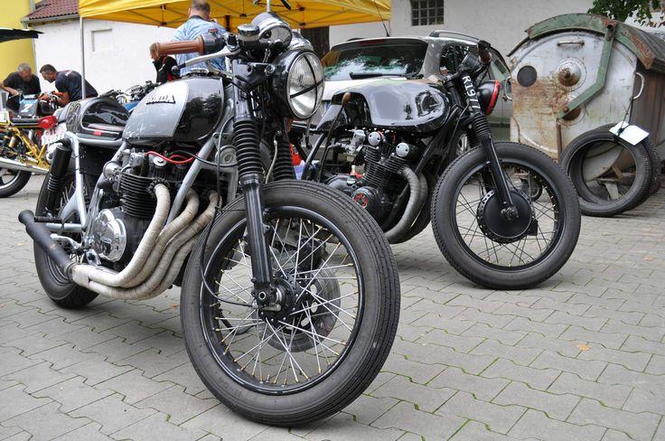 Honda CB500 & Suzuki GS750