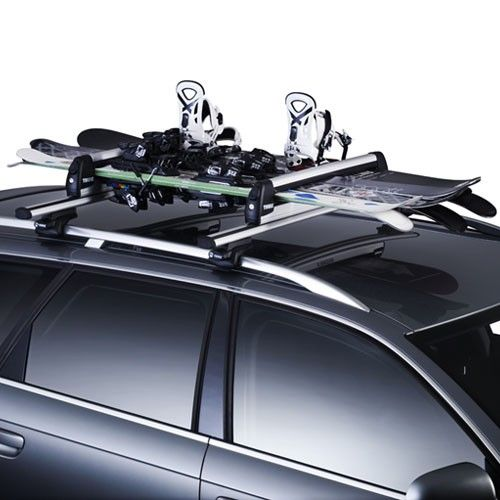 $399 (was $499) XTENDER 739 CARRIER - 6PR SKIS / 4 BOARDS - Roof Racks @ Hyper Drive - Bargain Bro