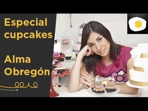 Especial cupcakes recetas alma obreg n baby shower - Tarta red velvet alma obregon ...