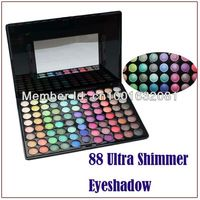 Envío gratis!! Maquillaje sombra de ojos paleta 88 colores brillan sombra ojos paletas 88g