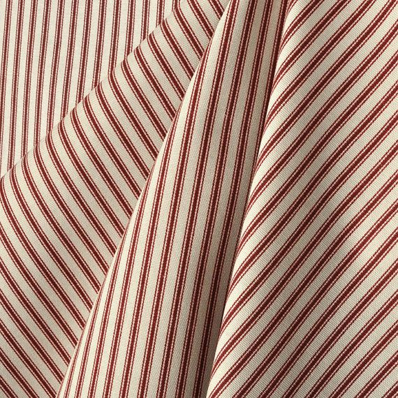 Upholstery Fabric Drapery Fabric Ticking Stripe by TheFrenchPillow