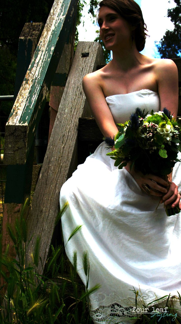 Rustic Wedding. Four Leaf Styling