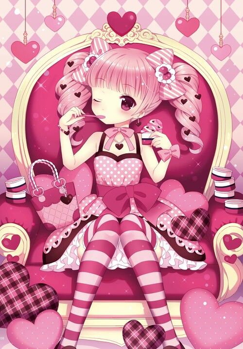 Girl Sitting On Bench Wallpaper Adopted This Is Yuki Age 6 She Loves The Color Pink And