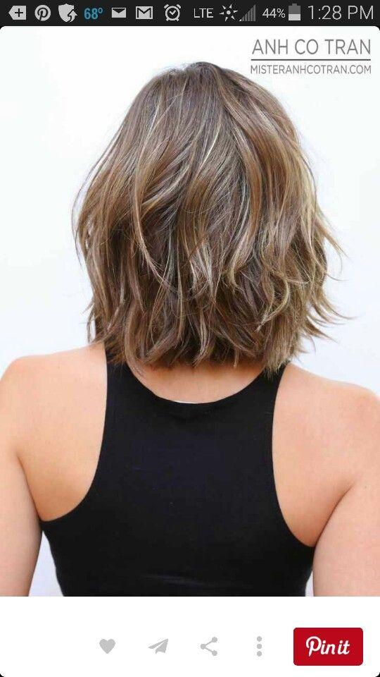 Layers Hair Dooz Frisuren Schulterlang Schulterlange