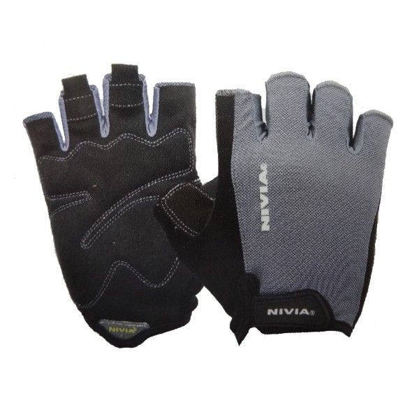 Nivia Python Leather Gym Gloves Product Code: FS1593  MRP: Rs 950.00 /- Discount: 27 % Our Price:Rs 690.00/- Material: Super Stretchable Micro Leather