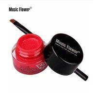 Music Flower High Quality Moisture Waterproof Lipstick Long Lasting Candy Red Cushion Lip Stick Vitality Cerise Star