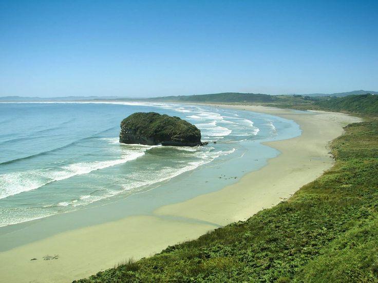 Beach on Chiloe Island