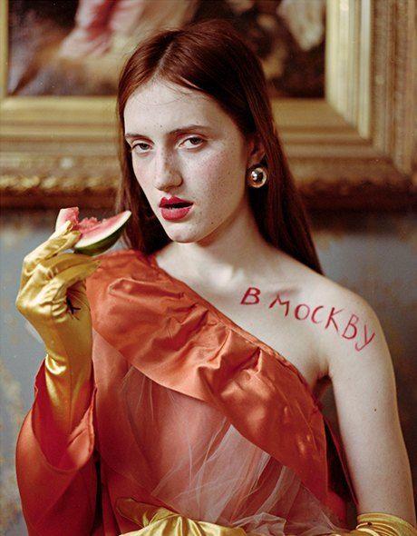 Съёмка Юлдус Бахтиозиной для Naya Rea по мотивам пьесы «Три сестры». Изображение № 9.