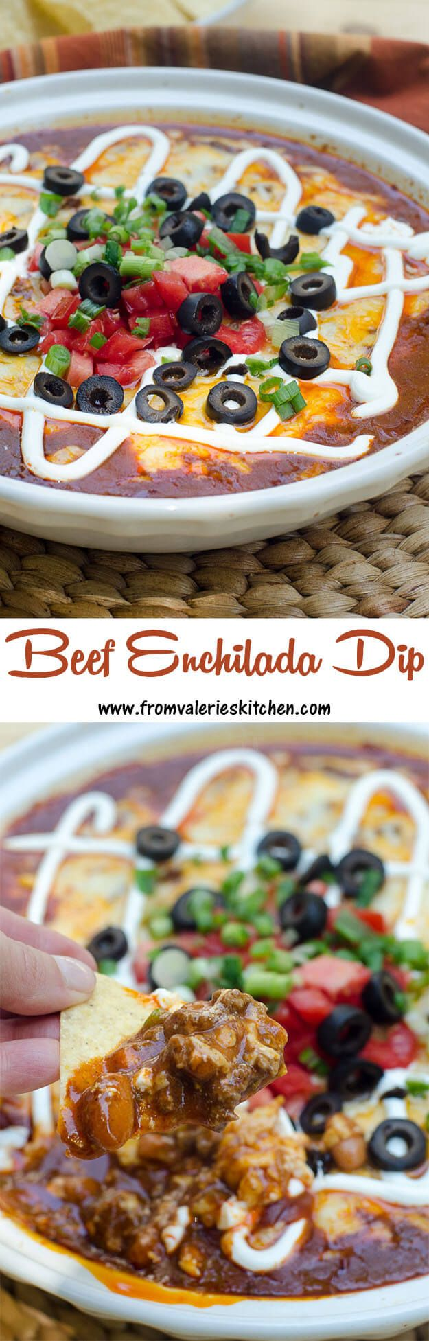 A beefy, substantial Mexican-inspired appetizer! ~ http://www.fromvalerieskitchen.com