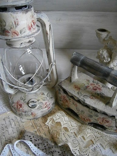 do this with Granny's old iron!