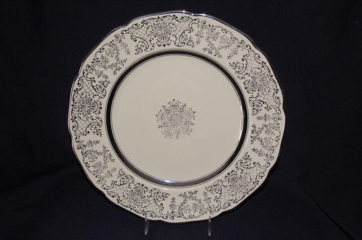 Vintage Johnson Brothers Victorian Dinner Plate