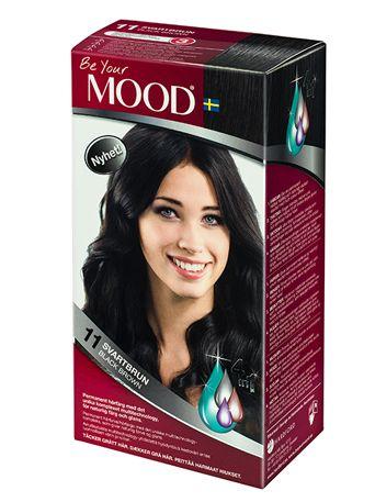 » N 11 SVARTBRUN Permanent hårfärg med det unika komplexet multitechnology, för naturlig färg och glans. Täcker grått hår.  Ger alla hår en varm svart nyans.