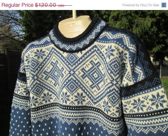Sale Vintage Dale of Norway classic Knit wool by Simplemiles, $96.00