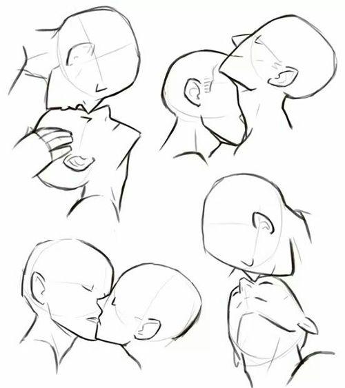 kiss, tutorial, and anime image
