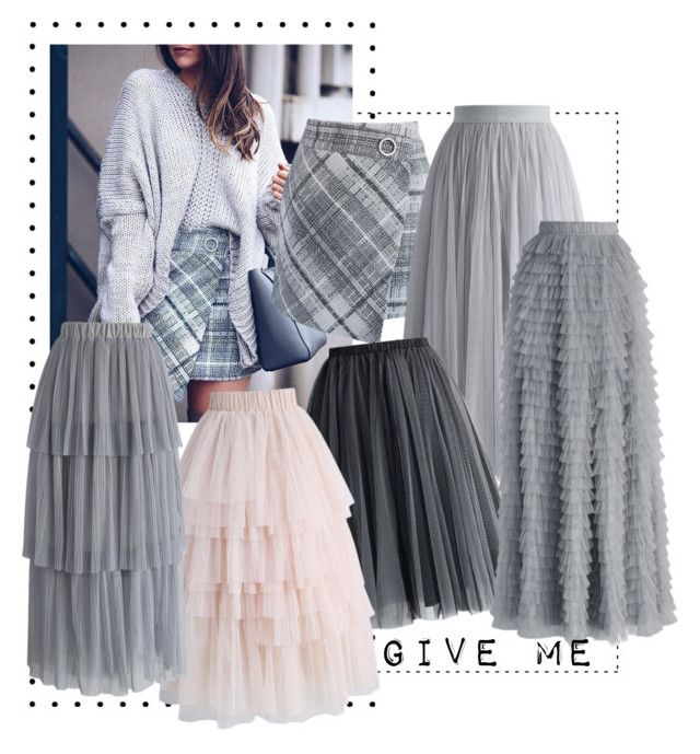 """TULLE SKIRTS"" by amandablomqvist on Polyvore featuring Chicwish"