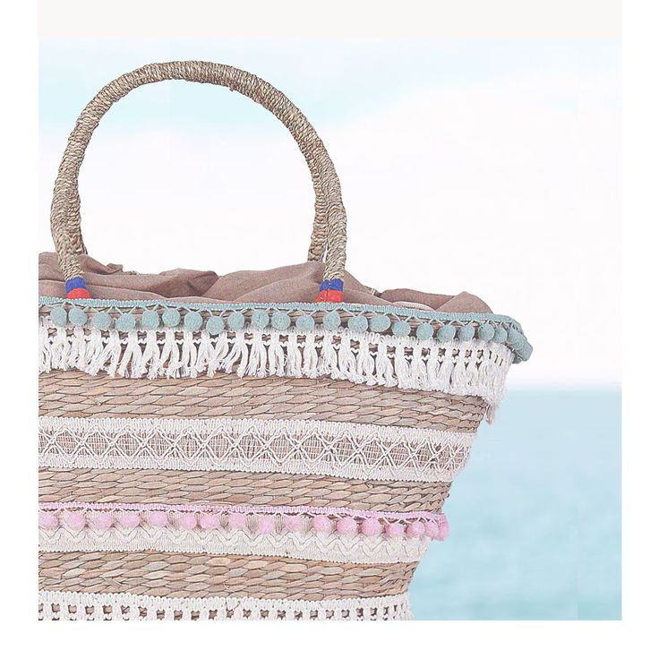 Beach bags in pastel colors! #beach_bag #summer2017 #accessories #greece #achilleas_accessories