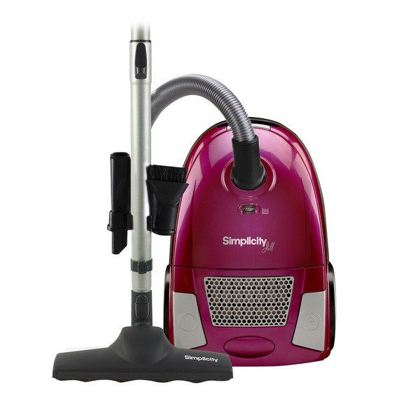 This Simplicity canister vacuum may be small in size but it's big in power! With HEPA filtration and lots of on-board tools and accessories, Jill is lightweight and convenient wherever you need the cleaning power of straight suction. Comes with 10 Amp motor, 6-stage HEPA media filtration and Genuine HEPA media bag. Includes aluminum telescopic wand, full bag indicator and 18.5 Foot cord. Tools on wand Floor It! floor tool with micropad. Watermelon Pink color.  2 yr warranty. #simplicity…