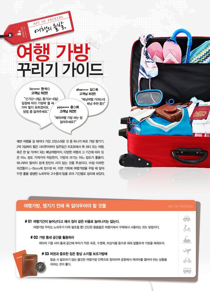 Art of Packing 여행의 출발, 여행 가방 꾸리기 가이드
