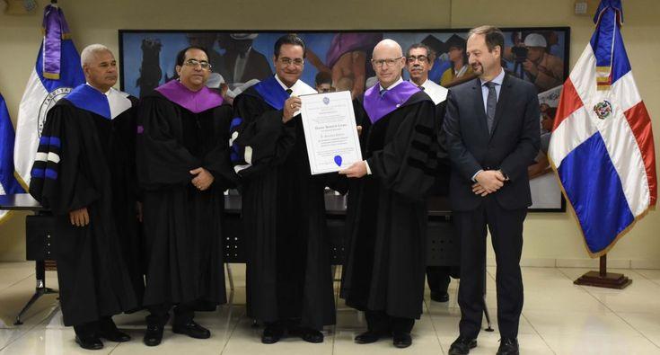 El Nuevo Diario   UASD entrega título doctor honoris causa al francés Stanislas Dehaene - El Nuevo Diario
