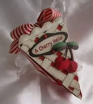 Image result for stampin up cutie pie cake box