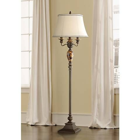Kathy Ireland Mulholland 4-Light Floor Lamp
