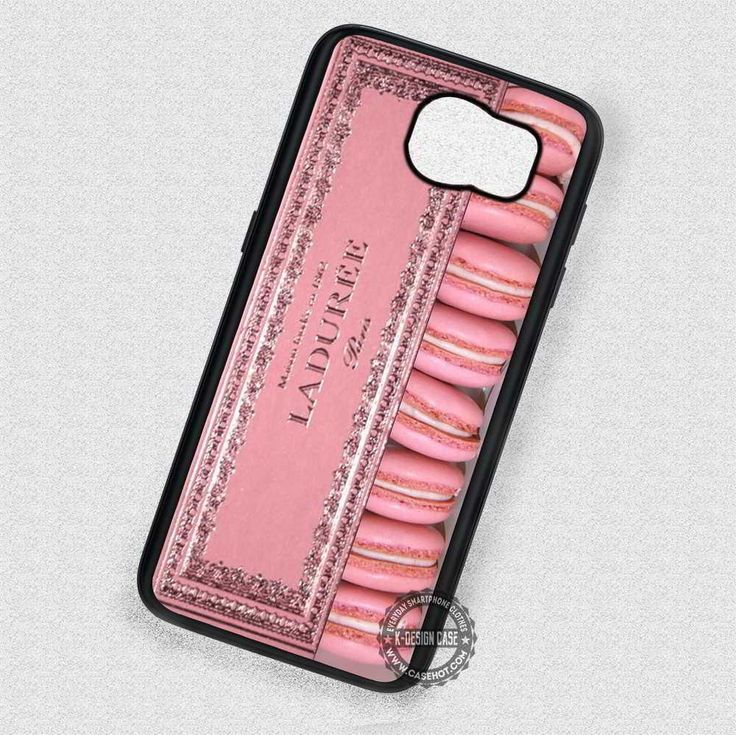 Pink Macaron Box - Samsung Galaxy S7 S6 S5 Note 4 Cases & Covers