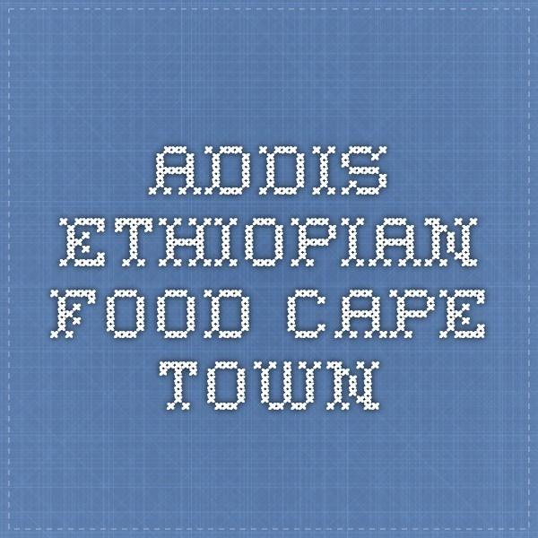 Addis - Ethiopian food - Cape Town