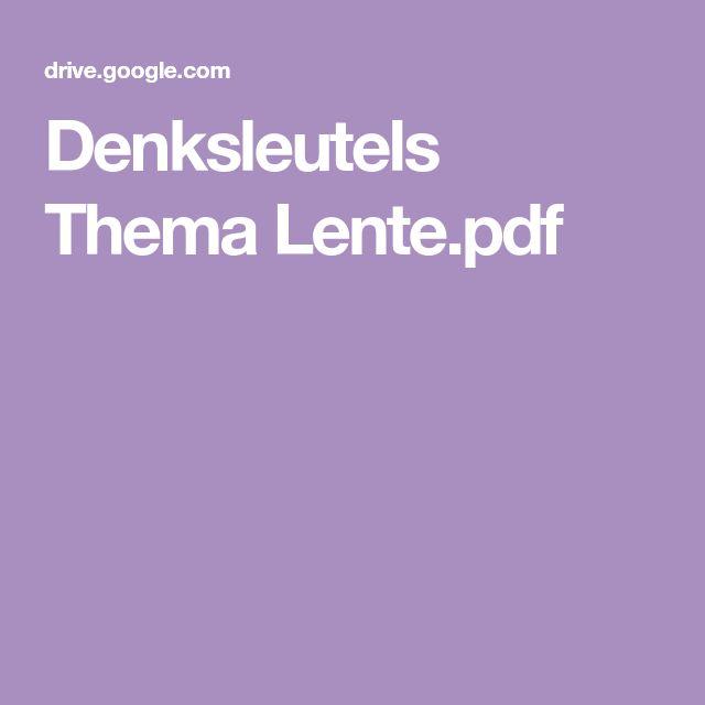 Denksleutels Thema Lente.pdf
