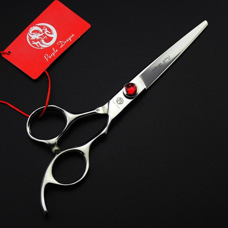 Purple dragon Japan 440c Professional Hair Cutting Scissors Hair Salon Barber Shears 4.5 /5 /5.5 / 6 inch for Choose VH070