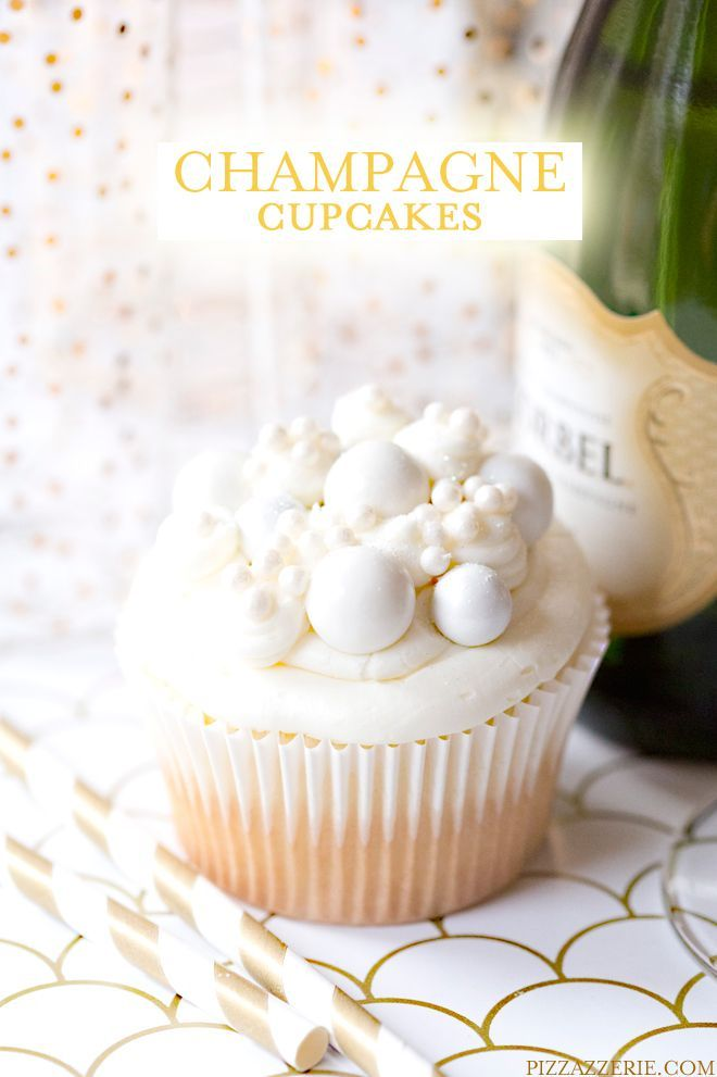 Bubbly Champagne Cupcakes 189 best Cupcakes Recipes