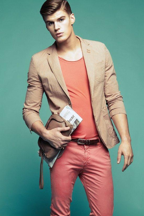 [MODE / HOMME] Osez - osez le #colorblock ! <3