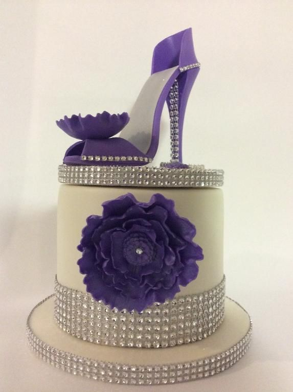 Make a High Heel Cake Topper in Craftsy's: High-Fashion Heels