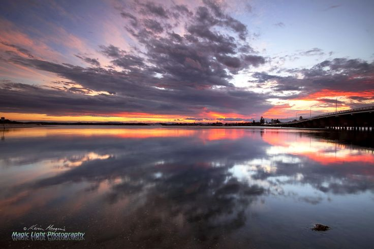 Forster Sunset April 2014 by Kevin Morgan on 500px