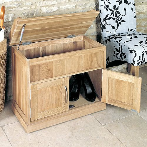 Oak+Shoe+Bench+with+Hidden+Storage+-+Mobel