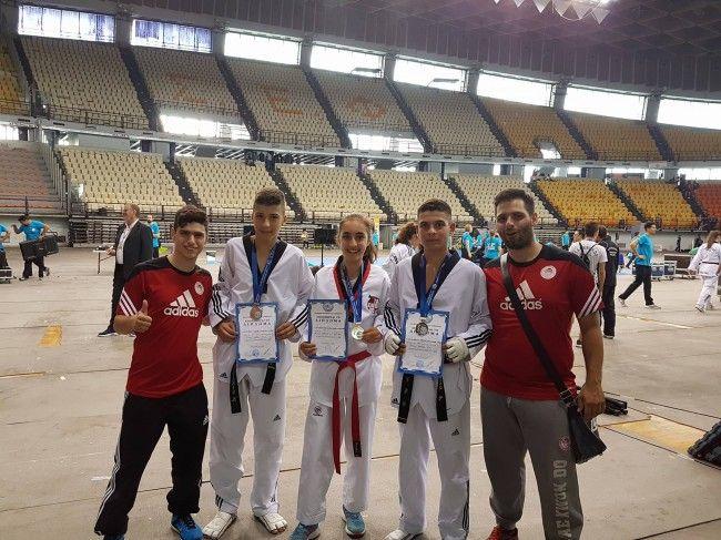 Έξι μετάλλια στο «2ο Κύπελλο Ακρόπολις»