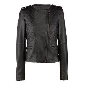 Black biker jacket - Comptoir des Cotonniers