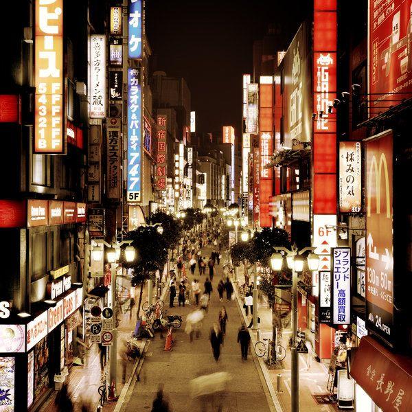 TOKYO - Shinjuku Japan, by *angelreich  http://angelreich.deviantart.com/