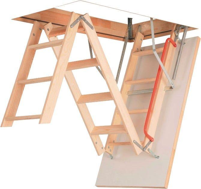 Escalier Escamotable Bricoman Loft Ladder Attic Renovation Attic Rooms