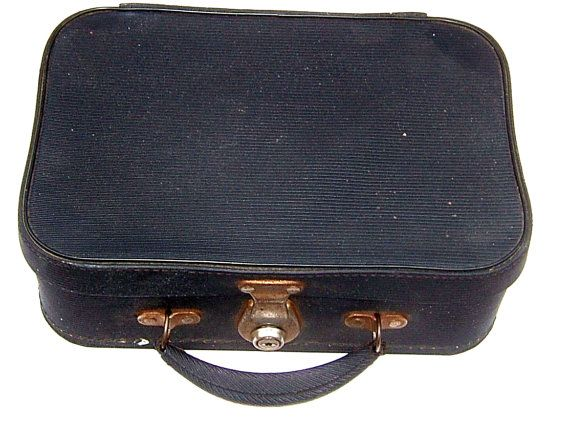1950s PIXIE Registered Personal Luggage British by BiminiCricket