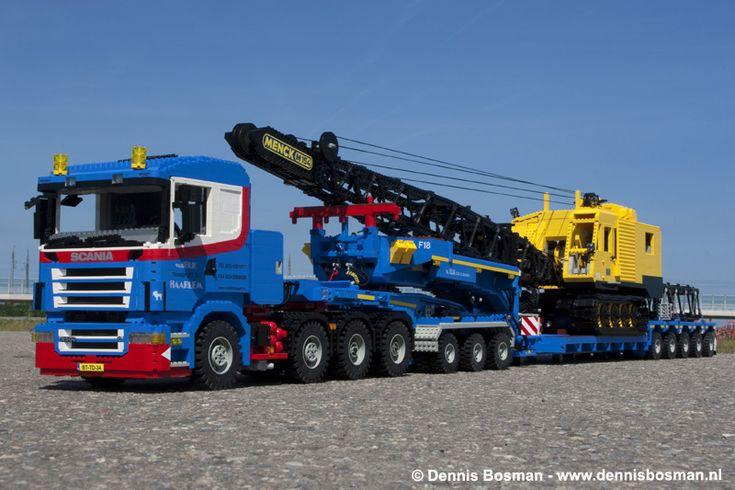 amazing lego trucks   LEGO trucks scale 1 to 13 by dennisbosman.nl