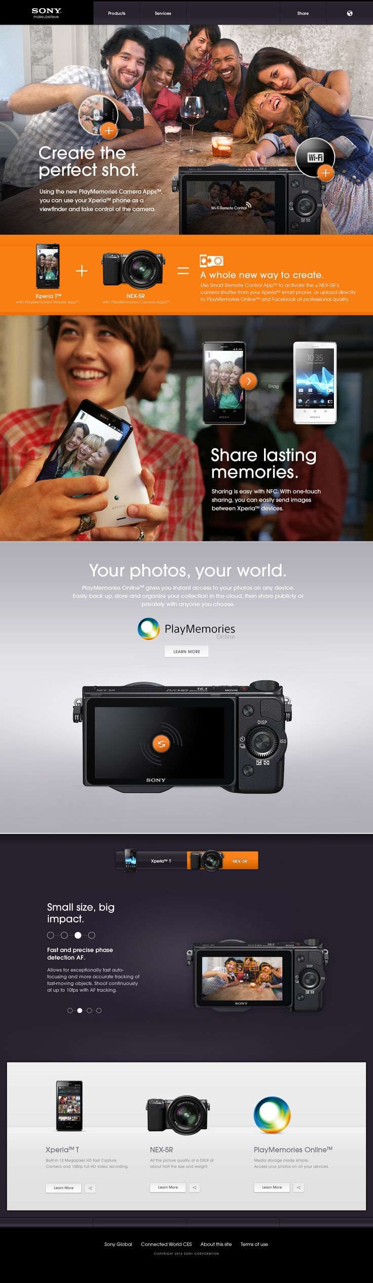 Sony & Fi Connect the World.