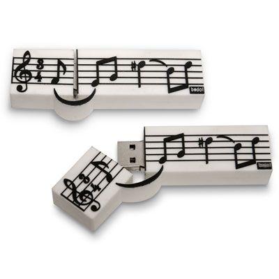 - music staff usb 4gb...
