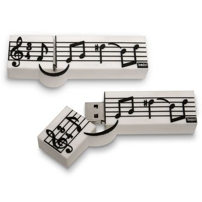 - music staff usb 4gb...