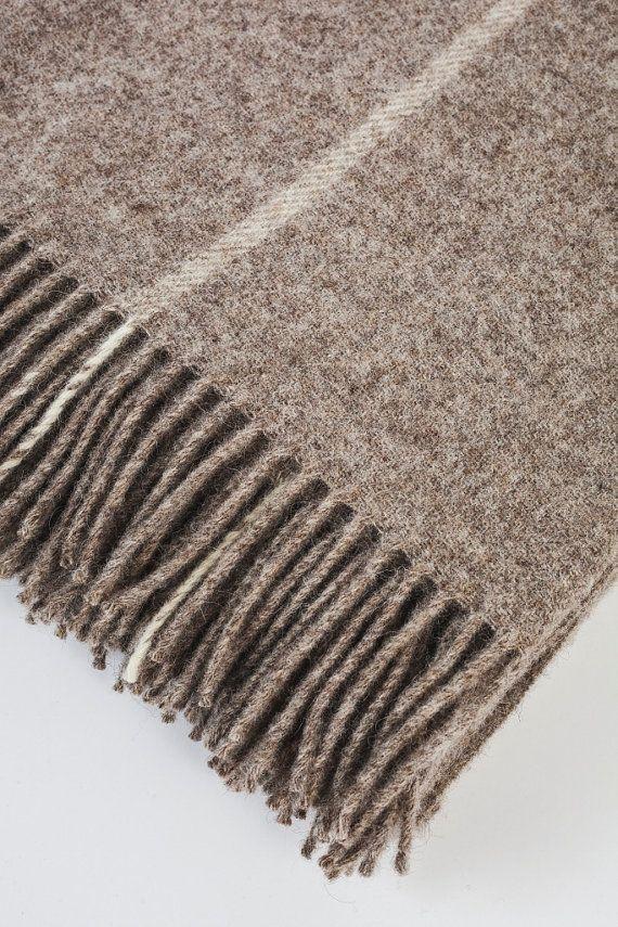 Throws For Sofa. Sofa Throws. Plaid Wool Blanket. Luxury