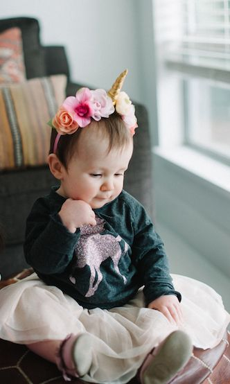 Maybe we've all got a little unicorn magic inside of us. Make some happen with the always comfy and totally adorable Glitter Unicorn Raglan Pullover. Want more unicorn inspiration? Head over to our website>blog and check out our ideas for a unicorn inspired birthday party.