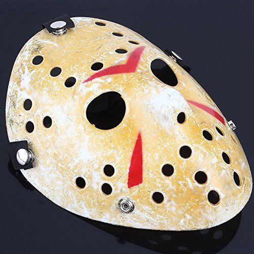 Mimgo Store Friday The 13th Horror Hockey Jason Vs. Freddy Mask Halloween Costume Prop @ niftywarehouse.com