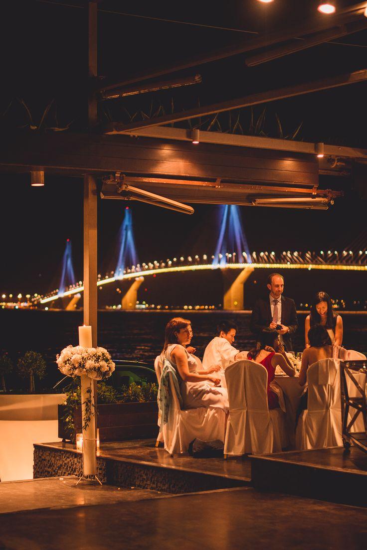 Under the bridge make the wedding of your dreams. your special event.#distinto #distintorio #wedding #boll #patras #greece #rio #bridge