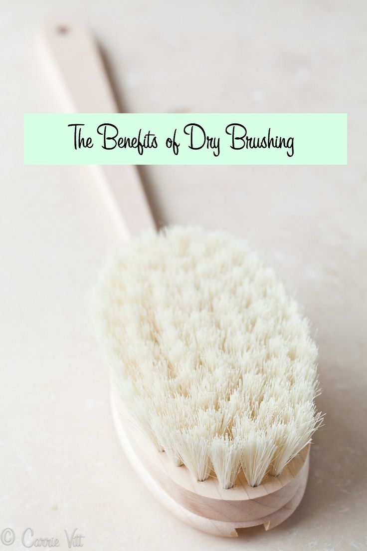 The Benefits of Dry Brushing