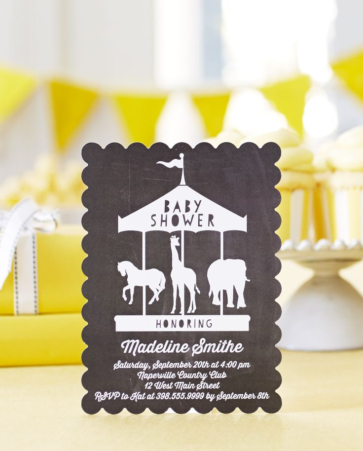 boy baby shower invitations australia%0A Stylish baby shower invitations for the chic momtobe  Shop classically  elegant