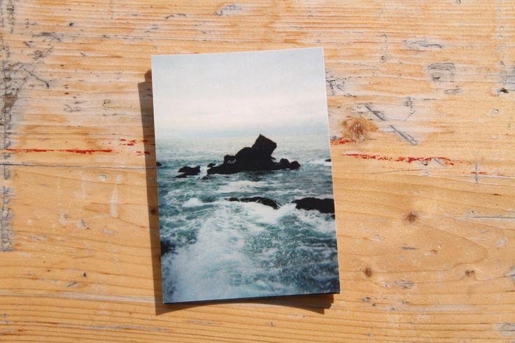 Landscape – New Horizont - #3 - POSTALCARD – a unique product by trastevere on DaWanda